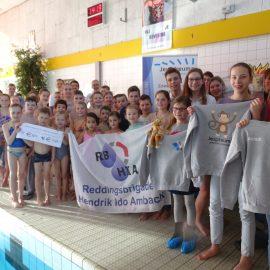 Eindstand sponsorzwemmen is bekend!